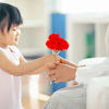 Gale: children friendship flower