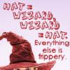 Sivaroobini: Wizard = hat