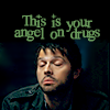 this is your angel on drugs - stoner!cas