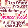 Noelle: Criminal Minds - Reid fictional characte