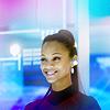 uhura|smile
