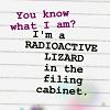 Press Gang - I'm a Radioactive Lizard (t
