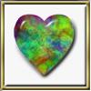 Maureen Lycaon: opal heart