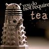 no tea