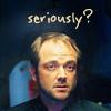 sherrilina: Snarky Crowley (Supernatural)