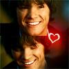 Sam Winchester Supernatural smile