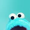 danni ϟ my patronus is a meerkat: Stock: Cookie Monster