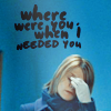 alex-wherewereyouwhenIneededyou?