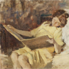 fiction: two girls reading