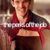 The Graduate: Merlin/Arthur perks- by luisadeza