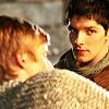 Arthur/Merlin s4 campfire