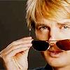 Blue: Owen Wilson//Sunglasses