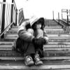 thinking, sadness