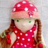 amanita waldorf doll