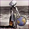 девочка земля