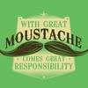 Random: fabulous moustache