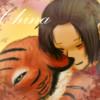 hetalia, China, tiger