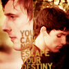 Arthur/Merlin - You can not escape your