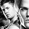 chlarkfan333: Winchesters b&w1