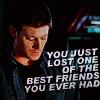 Emily: SPN - Dean - farewell Castiel