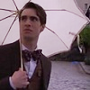 brendon with a parasol