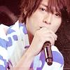 Pink Ranger: uchi: blue stripes