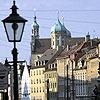 Германия. Аугсбург. фонарь