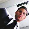 Dean in suit