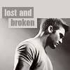 teen wolf -> derek - lost and broken