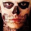 [American Horror Story] Skull Makeup