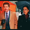 Cinna: the good wife: cary/kalinda umbrellas