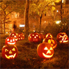jack o'lanterns (glowing)