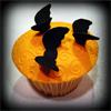 pumpkin muffin (bats)