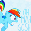 Dashie Oh Mah Gosh by Funkymonkey8