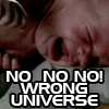 Wrong Universe!