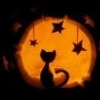 addie71: (Halloween) Orange Cat & Moon