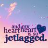 jetlagged