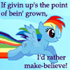 make-believe (Rainbow Dash)