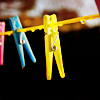 Laurie: clothespins