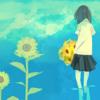 sunflower, water