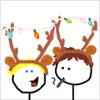 mander3_swish: christmas antlers