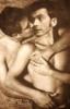 Intimate Hugs-sepiatone