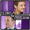 marvel movies - clint/coulson purple