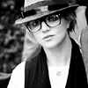 lalameanslove: Britney // Glasses BW