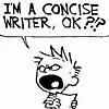 Calvin concise writer
