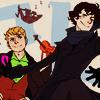 TV: Reapersun's Sherlock art
