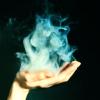 tainry: smoke hand