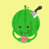 Shane: [stock] hungry watermelon