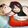 Homestuck - Dave/Jade cuddles