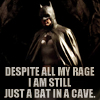 patron saint of neglected female characters: bat in a cave